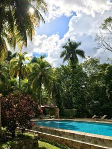The swimming pool at or near Hacienda Chichen Resort and Yaxkin Spa