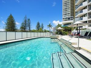 The swimming pool at or near Private Apartment - Central Broadbeach