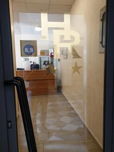 The lobby or reception area at Hotel Ricci