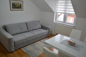 Prostor za sedenje u objektu Apartment Harmony