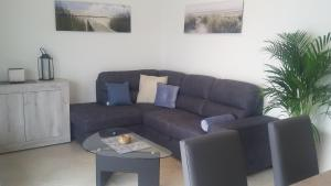A seating area at Villa Giada