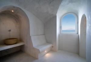 A bathroom at Bellevue Syrene