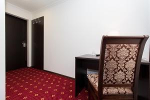 Кровать или кровати в номере Отель Атрия