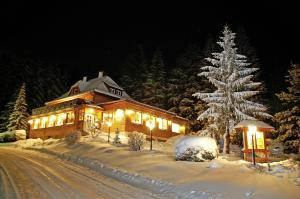 Hotel Restaurant Peterle im Winter