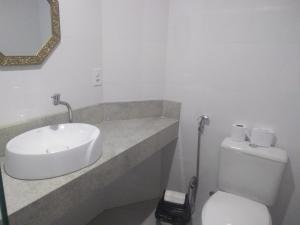 Um banheiro em Pousada Vale do Amanhecer