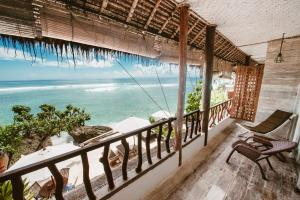 A balcony or terrace at Rock'n Reef