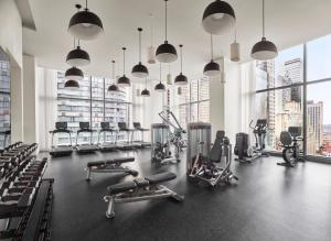 The fitness center and/or fitness facilities at Times Square EDITION New York