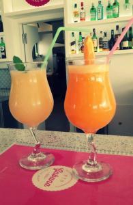 Bebidas em Gabana Baleal Beach