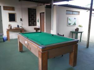 A pool table at Hotel Patropi