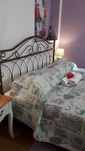 A bed or beds in a room at Lavanda