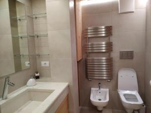 A bathroom at Daniela Apartment