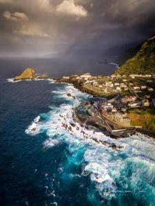 Vue panoramique sur l'établissement Alojamento Local Atlântico