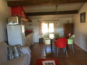 A kitchen or kitchenette at Gites Colline De Sollies