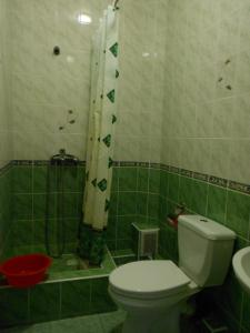 A bathroom at Kalimera Hotel