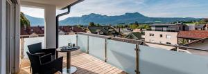 A balcony or terrace at Hotel Krone