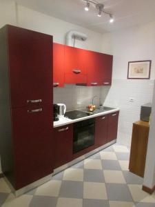 Cucina o angolo cottura di Casa Valerio