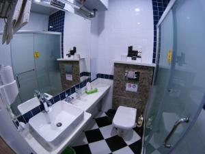 Ванная комната в Rohat Hotel