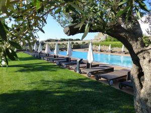 The swimming pool at or near Hotel Sol Ixent