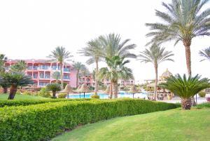 Сад в Parrotel Aqua Park Resort