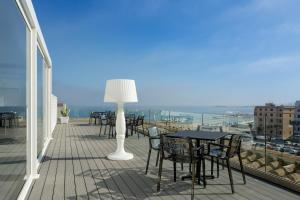 A balcony or terrace at Room Of Andrea
