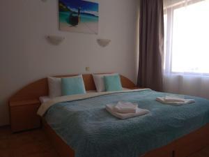Postel nebo postele na pokoji v ubytování Vista Del Mar Ap 22