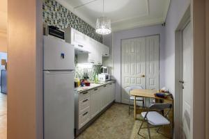 Кухня или мини-кухня в Хостелы Рус - на Пречистенке