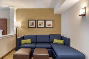 A seating area at Comfort Inn & Suites Schenectady - Scotia