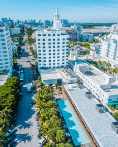 A bird's-eye view of SLS South Beach