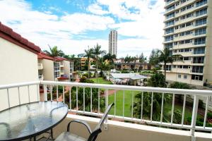 A balcony or terrace at Key Largo Holiday Apartments
