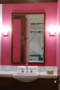 A bathroom at Casa Turquesa - Maison D´Hôtes