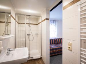 Ein Badezimmer in der Unterkunft Siri's Einkehr