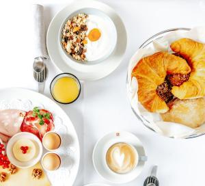 Завтрак для гостей Maison Hustinx op het Vrijthof