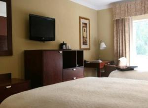 A television and/or entertainment center at Hampton Inn Alexander City