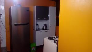 A kitchen or kitchenette at Apartment Sumaq Tika