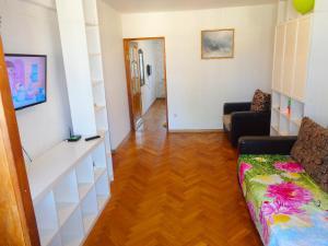 Гостиная зона в Apartment on Vorovskogo 19