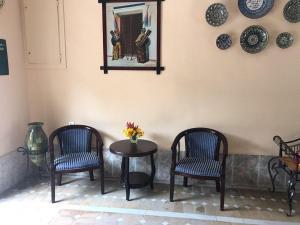 Zona de estar de Hotel Zarina