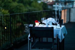 Ресторант или друго място за хранене в Хотел мОдус