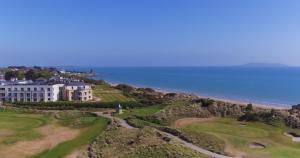 A bird's-eye view of Portmarnock Hotel & Golf Links