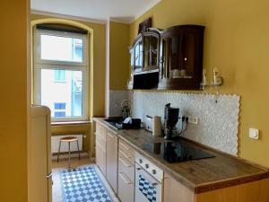 Küche/Küchenzeile in der Unterkunft Brilliant Apartments