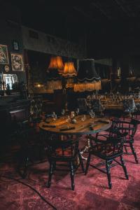En restaurang eller annat matställe på Mojo Hotell