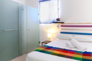 Cama o camas de una habitación en Hotel Seloha