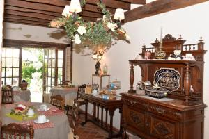 A restaurant or other place to eat at La Petite Ferme