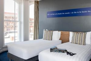 A bed or beds in a room at ibis Styles Blackpool