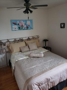 A bed or beds in a room at Single Home