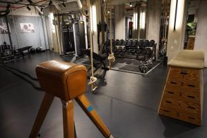 The fitness center and/or fitness facilities at Hotel Hubert Grand Place