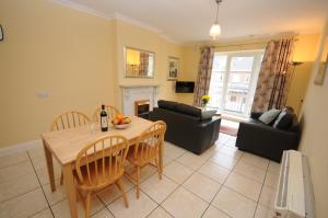 Dining area at the student accommodation