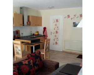 Küche/Küchenzeile in der Unterkunft Ferienwohnung Gerlach