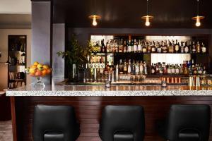The lounge or bar area at The Laurel Inn, part of JdV by Hyatt