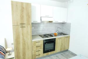 A kitchen or kitchenette at Apartment Martedić