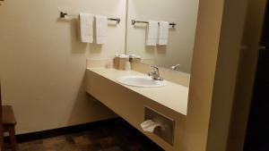 A bathroom at Royal Motor Inn